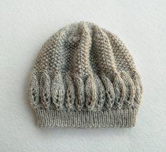 FREE SHIPPING Knitted Women Hat in Oatmeal Ecru by Need4KnitShop