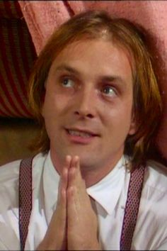 Richie always comes over all religious when he wants something! Ade Edmondson, Witty Insults, Rude Hand Gestures, Rik Mayall, Double Entendre, Ab Fab, My Hero, Laughter