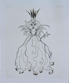 Gris Grimly 'Good Witch""