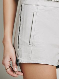 8dea651679 Free People Hi-waisted Vegan With Zipper Detail at Free People Clothing  Boutique Roupas Boho