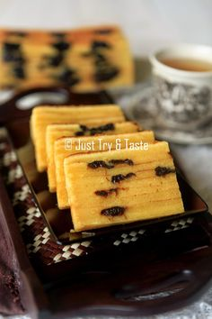 Just Try & Taste: Lapis Legit Prune Ekonomis dan Tips Membuatnya Layer Cake Recipes, Easy Cake Recipes, Pudding Desserts, No Bake Desserts, Bolu Cake, Sponge Cake Roll, Lapis Legit, Resep Cake, Asian Cake