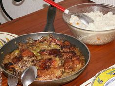 Yassa is a popular dish throughout West Africa prepared with chicken or fish. Chicken yassa is pictured. ◆Ivory Coast - Wikipedia https://en.wikipedia.org/wiki/Ivory_Coast #Ivory_Coast #Cote_d_Ivoire