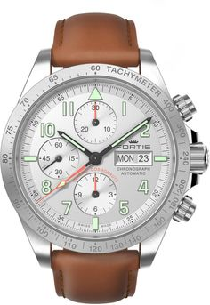 Fortis Watch Cosmonautis Classic Cosmonauts #add-content #bezel-fixed #bracelet-strap-leather #brand-fortis #case-material-steel #case-width-42mm #chronograph-yes #date-yes #day-yes #delivery-timescale-1-2-weeks #dial-colour-silver #gender-mens #luxury #movement-automatic #new-product-yes #official-stockist-for-fortis-watches #packaging-fortis-watch-packaging #style-sports #subcat-cosmonautis #supplier-model-no-401-21-12-l-28 #warranty-fortis-official-2-year-guarantee #water-resistant-100m