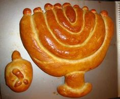 Menorah Challah! So cool!!!