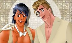Dec. 20, 2015 - HuffingtonPost.com - Cartoon gallery: If Disney's princes were gay and on the prowel