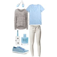 """Soft Hues"" by myrab51 on Polyvore"