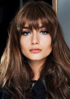 These bangs will look amazing on your squared shaped face