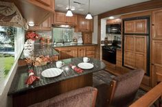 My dream camper interior! Big Country Luxury Fifth Wheel