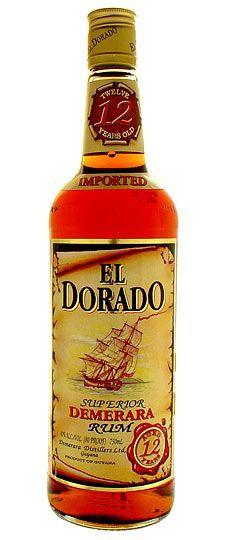 El Dorado 12 year old Demerara Guyana Rum 750ml (ships as 1.5L):