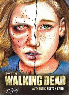The Walking Dead Season 2 Sophia Artist Proof by Dr-Horrible.deviantart.com on @deviantART