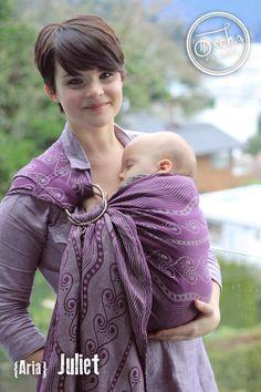 Aria Juliet Ring Sling   50%Organic Combed Cotton/50% Linen #romeoandjuliet #oscha