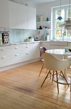 Küchenabendeinblick