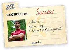 Image result for recipe for success in life Recipe For Success, Wisdom, Image, Cards, Life, Maps, Playing Cards