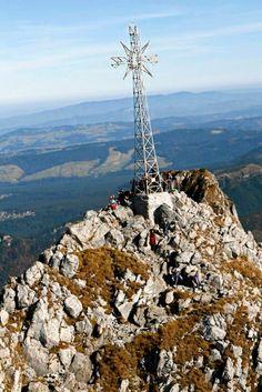 Mount Giewont, Zakopane, Poland.