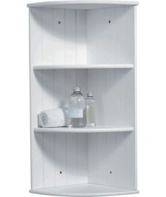 Buy Tongue and Groove Corner Shelves - White at Argos.co.uk - Your Online Shop for Bathroom shelves and units.