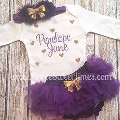 A personal favorite from my etsy shop httpsetsylisting personalized baby girl clothes monogrammed baby gift negle Images