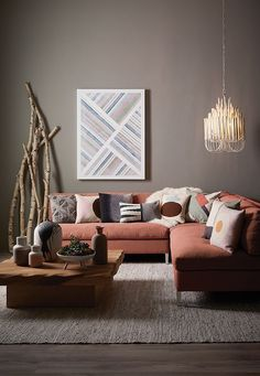 The living room color schemes to give the impression of more colorful living. Find pretty living room color scheme ideas that speak your personality. Best Interior Paint, Interior Paint Colors, Interior Painting, Painting Doors, Gray Interior, Living Room Color Schemes, Living Room Designs, Living Room Colors, Living Room Paint