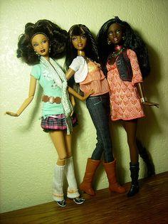 Fashion Barbies   tru_fashionista, flickr