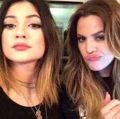 Kylie Jenner and Khloe kardashian