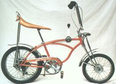 Bicycle Picture of the Day: 1972 Schwinn Sting-Ray Orange Krate  Had one :)