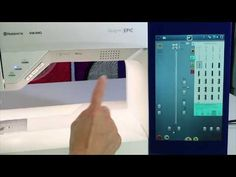 Learn how to save stitch settings like width, length and needle position for each stitch on the Husqvarna Viking designer EPIC sewing and embroidery machine. Sara Online, Epic 2, Viking Sewing Machine, Embroidery Techniques, Free Sewing, Vikings, Machine Embroidery, Sewing Projects, Positivity