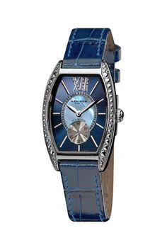 XXIV Women's Diamond Swiss Quartz Tonneau Watch