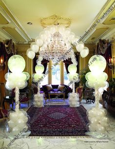 Wedding Decor, Sue Bowler, balloon  decor courses
