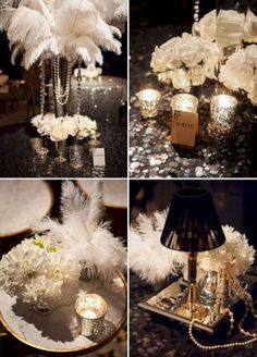Decorations Great Gatsby parties