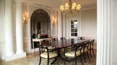 Royal Suite at the Savoy Hotel, London, a tour with head butler Sean Dav...
