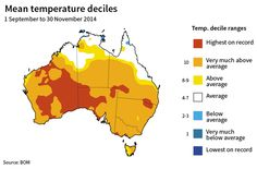 How climate change influenced Australia's extreme weather in 2014