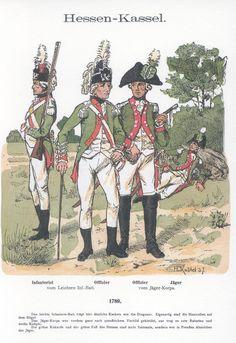 Knötel-Tafel by RicHessen-Kassel. British Uniforms, German Uniforms, Military Uniforms, Imperial Army, Austro Hungarian, American Revolution, French Revolution, Napoleonic Wars, German Army