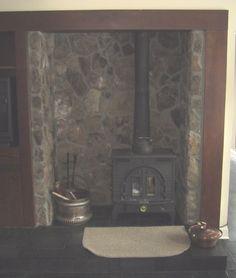 alcove fireplace