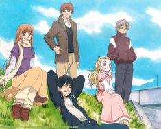erm, how did i never post Honey and Clover? Chose this pick b/c its a cute representation of the characters - and a very popular pic at that. I need to re-watch this, its been years. but i have super fond memories of this show regardless. I often liken it to Nodame - but i do like Nodame much better. Sorry!