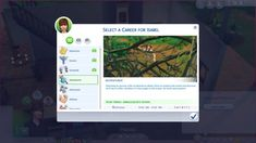 Adventurer Career by GoBananas at Mod The Sims • Sims 4 Updates