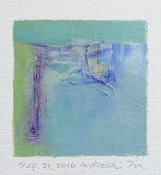 Sep. 21 2016 Original Abstract Oil Painting by hiroshimatsumoto
