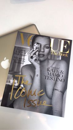 Vogue Nederland The Book, The Iconic Issue 2015 Volume 2- Kate Moss photographed by Mario Testino- See more: www.condenastinternational.com/shop www.instagram.com/condenastworldwidenews email: cnwwn@condenast.co.uk for enquiries