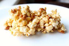 Nutty Butter Popcorn