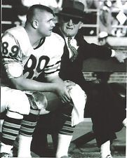 Mike Ditka and George Halas