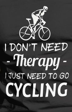 Don't need therapy!