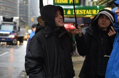 Join the revolution and follow WhoIsMrRobot on Instagram - @WhoIsMrRobot - Rami Malek on set of Mr Robot (Exclusive photo to RamiMalekOnline)