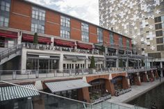 Canal-side dining at the Mailbox!