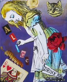 Alice by Zoa Ace Alice, Princess Zelda, Gallery, Artwork, Artist, Fictional Characters, Work Of Art, Roof Rack, Auguste Rodin Artwork