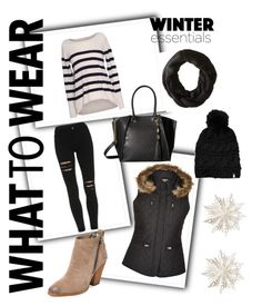 What to wear- Winter by neatzwinter on Polyvore featuring polyvore, fashion, style, Velvet by Graham & Spencer, Dolce Vita, Steve Madden, The North Face, Dot & Bo and clothing