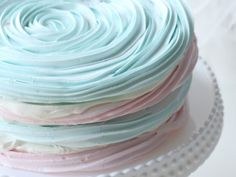 Pastel Meringue Swirl