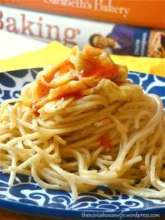 garlic noodles (Maggi Noodles)