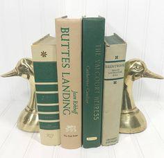 Green Vintage Book Set. Shelf decor Mantel Decor Shelf decorating mantel decorating. Buy On Etsy Now