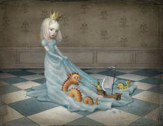 Los sueños de Nicoletta Ceccoli: fantasía, nostalgia, fragilidad, melancolía y belleza.