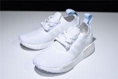 32fed56d6 Buy Women s adidas NMD R1 Primeknit Running White Blue Tint Shoes CQ2040-5 Adidas  Nmd