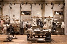 AllSaints Spitalfields Michigan Avenue Chicago #display