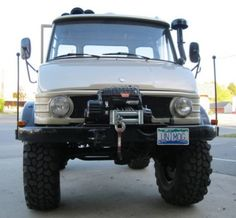 Must have Unimog.